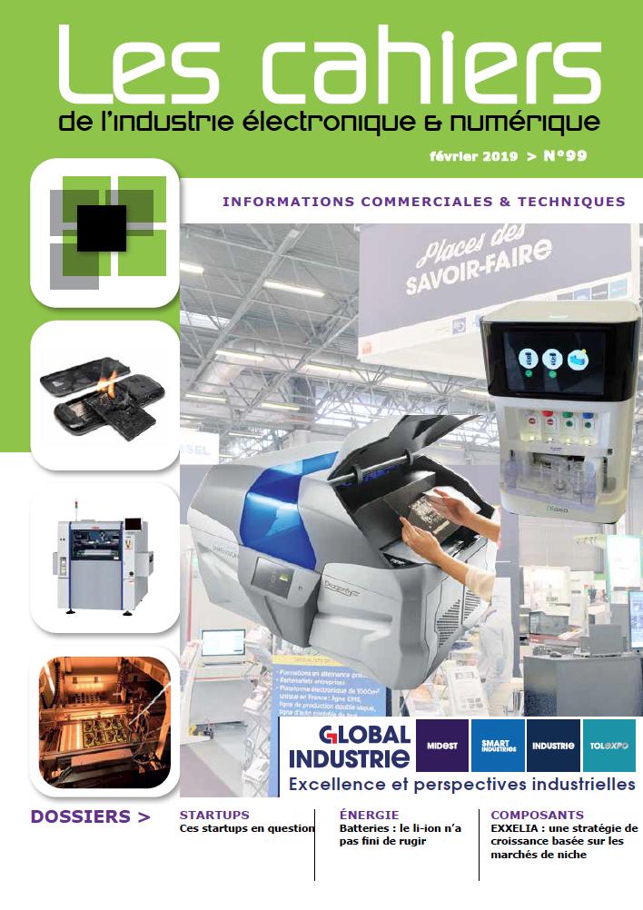 Les Cahiers de l'industrie électronique et numérique n°99